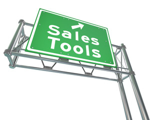 Sales Tools Road Freeway Sign Selling Techniques