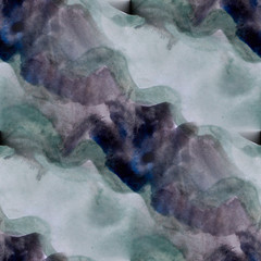 grunge texture, watercolor gray blue seamless background, vintag