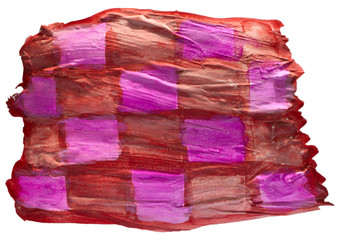 table brown, purple chart stroke paint brush watercolor isolated