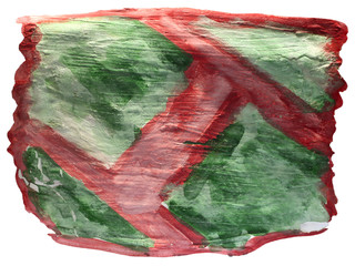 table green, brown mesh chart stroke paint brush watercolor isol