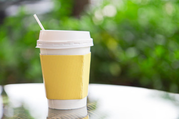 Disposable Cup , hot drink