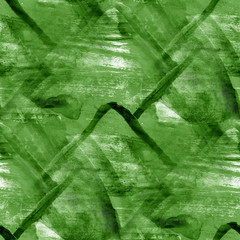 seamless, cubism abstract, art Picasso texture, green watercolor