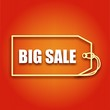 Vector poster with inscription big sale