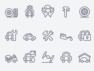 auto service icons
