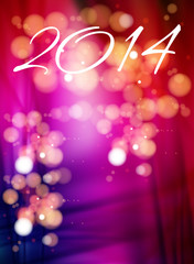 happy new year 2014 holiday background