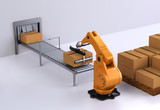 Robotic Palletising and Packaging concept