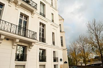 immeuble quai d' Orléans ile saint louis à Paris