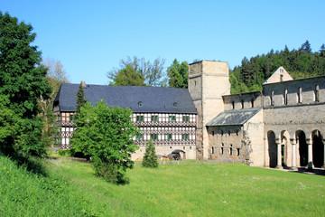 Kloster Paulinzella mit Jagdschloss