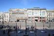 View of buildinds on Nevsky Prospekt