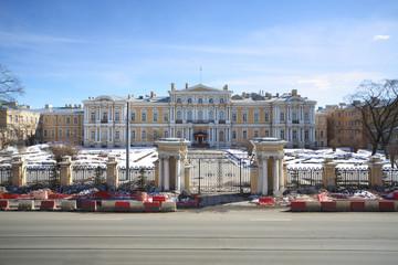 Building of the Suvorov Military School in St. Petersburg