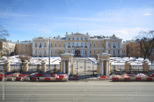 Building of the Suvorov Military School in St. Petersburg