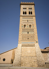 Tower mudejar of San Martin.Teruel.Spain