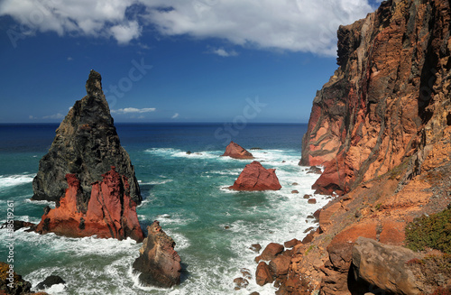Coastline of Ponta de Sao Lourenco (Madeira, Portugal) 03
