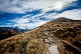 Beautiful Tatry mountains landscape Czerwone Wierchy