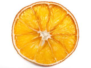 Getrocknete Apfelsinenscheibe