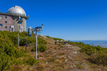 The astronomical observatory and weather station