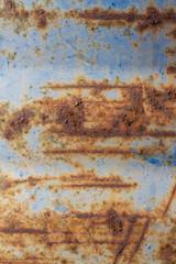 Rusty Blue Metal
