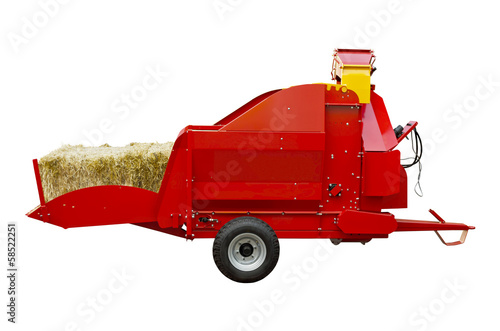 Straw shredder
