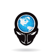 People head world Logo