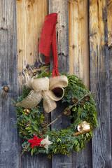 Weihnachtsdekoration Türkranz