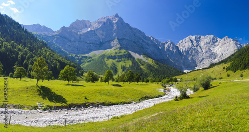 canvas print picture Panorama Landschaft in Bayern