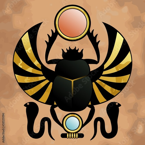 Scarab in ancient Egypt