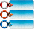 Three Sea Holiday Banners - N5