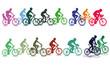 Radfahren in der Gruppe - 58527834