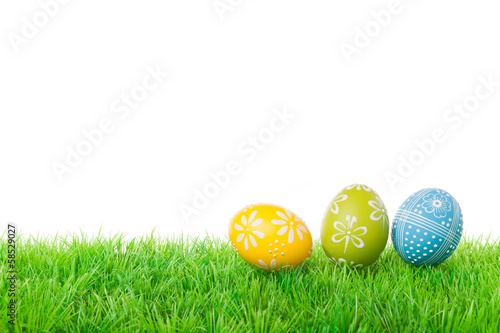 Three easter eggs