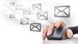 Leinwanddruck Bild - Email marketing
