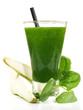 Smoothie mit Birne und Spinat
