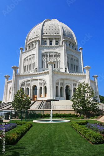 Poster Bahai Temple in Chicago