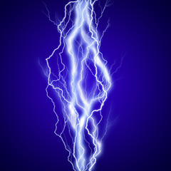 Arc électrique vertical