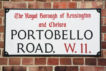 Portobello Road W11 a famous London Address
