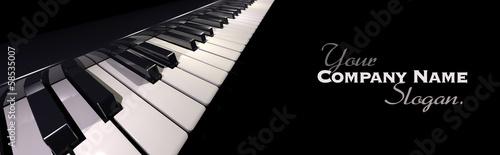 canvas print picture Piano