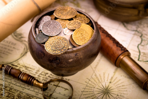 Treasure pot