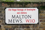 malton mews w10 a famouse London Address