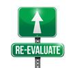 re-evaluate road sign illustration design