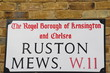 ruston mews a famous London Address
