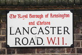 Lancaster road a famous London Address