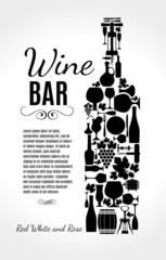 Wine background.