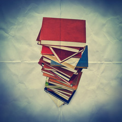 books paper backdrop