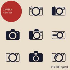 camera icons set2
