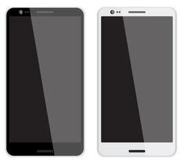 2 smartphones