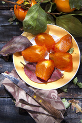 The Result Of The Fall Season, Persimmon