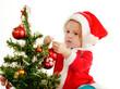 baby Santa girl