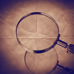 magnify paper backdrop