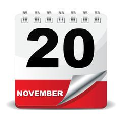 20 NOVEMBER ICON