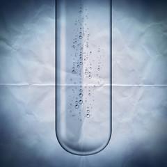 test tube paper