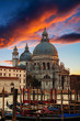 Fairytale sunset over Grand Canal, Venice, Italy